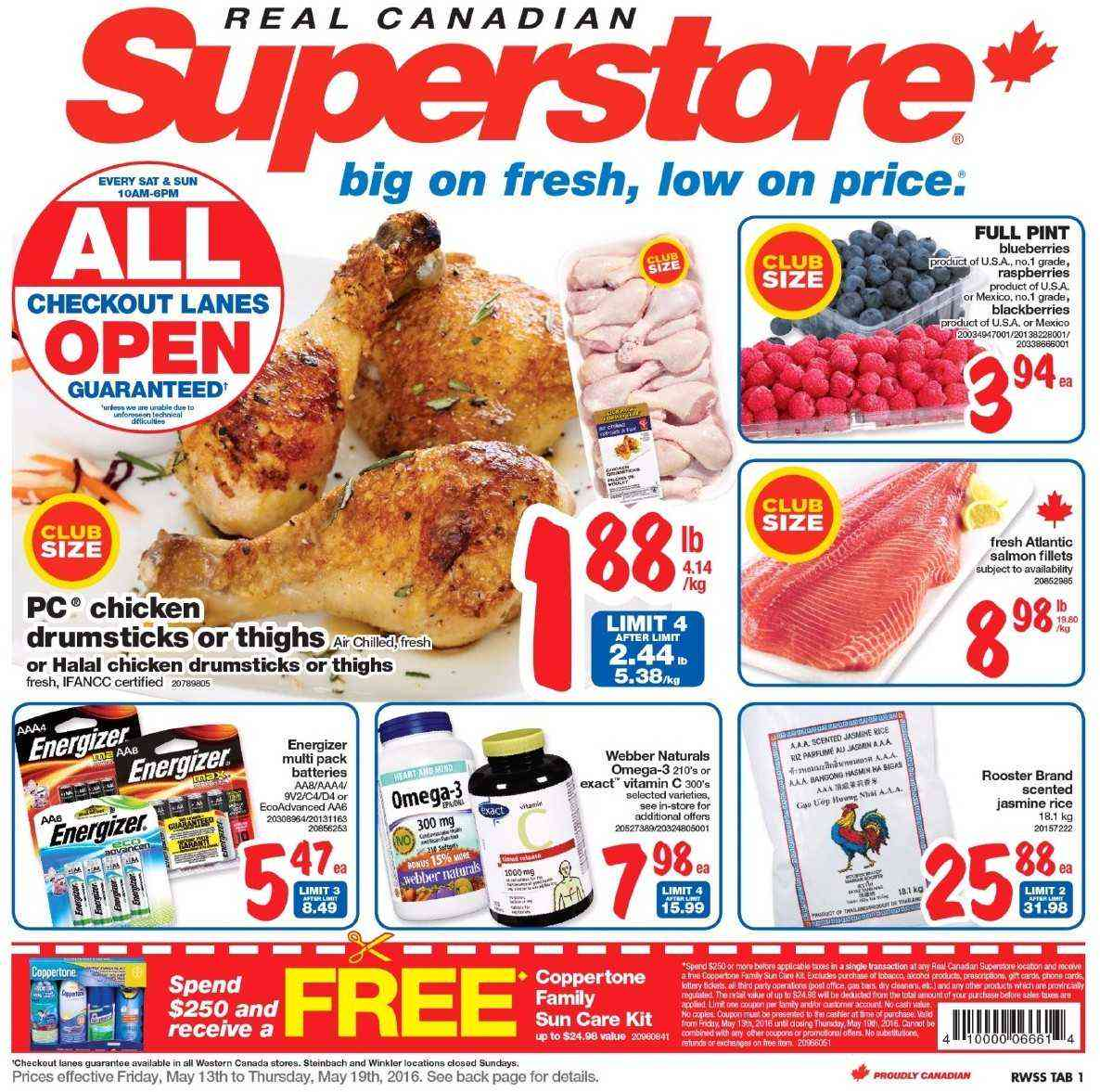 Costco Tire Prices >> Superstore Flyer May 13 - 19 2016