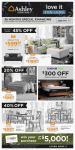 Ashley Furniture Homestore Flyer October 12 - 21 2021
