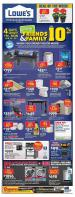 Lowe's Flyer April 25 - May 1 2019