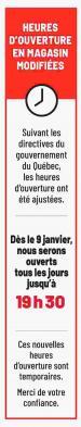 Circulaire Metro Janvier 14 - 21 2021