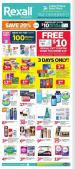 Rexall Flyer May 26 - June 1 2017