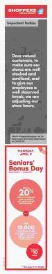 Shoppers Drug Mart Flyer April 4 - 10 2020