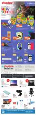Staples Canada Flyer August 4 - 10 2021