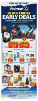 Walmart Flyer Black Friday Early Deals November 21 - 27 2019