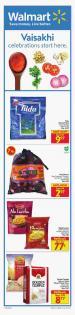 Walmart Flyer Vaisakhi April 1 - 14 2021