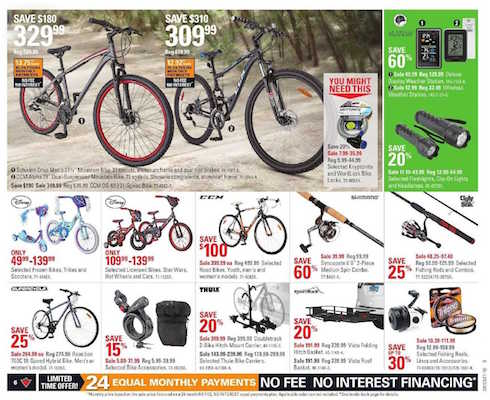 Canadian Tire Flyer 31 May 2016 Bike Sale
