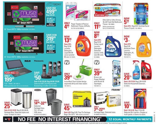 Canadian Tire Flyer 10 Aug 2016