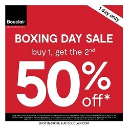 Bouclair Flyer Boxing Day Sale Dec 25 - 26 2016