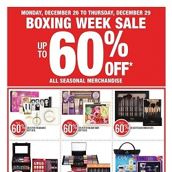 Shoppers Drug Mart Flyer Boxing Week Sale Dec 26 - 29 2016