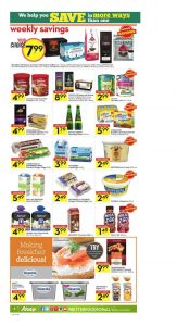 Sobeys Flyer January 3 2017