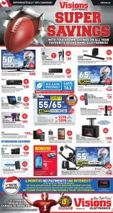 Visions Electronics Flyer February 8 2017 - ON
