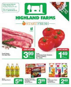 Highland Farms Flyer February 5 2017