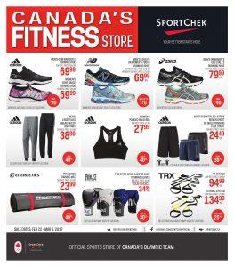 Sport Chek Flyer February 22 2017