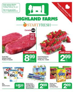 Highland Farms Flyer February 12 2017