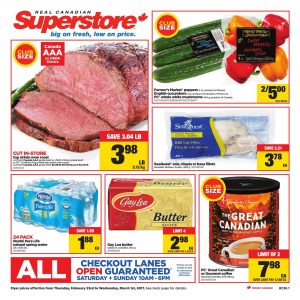 Real Canadian Superstore Flyer February 27 2017