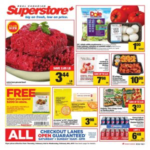 Real Canadian Superstore Flyer February 6 2017