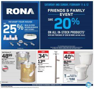 Rona Flyer February 13 2017