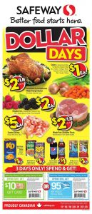 Safeway Flyer February 16 2017 Dollar Days