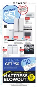 Sears Flyer February 23 2017 Buy More Get More