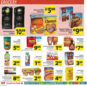 IGA Flyer March 22 2017