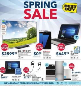 Best Buy Flyer March 19 2017 Spring Sale