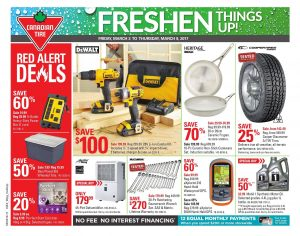 Canadian Tire Flyer March 7 2017