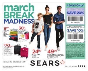 Sears Flyer March 10 2017