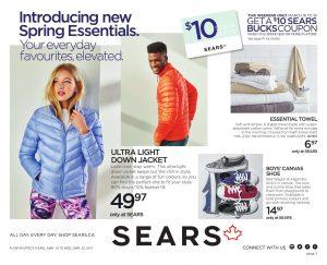 Sears Flyer March 17 2017 Spring Essentials