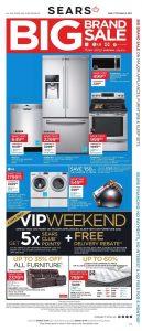 Sears Flyer March 2 2017 Big Brand Sale