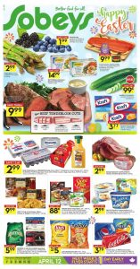 Sobeys Flyer April 8 2017