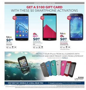 detailed look f2614 12f30 Best Buy Flyer April 12 2017