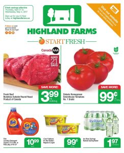 Highland Farms Flyer April 27 2017
