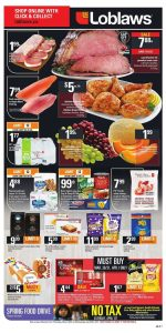 Loblaws Flyer April 1 2017