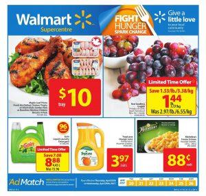 Walmart Flyer April 19 2017