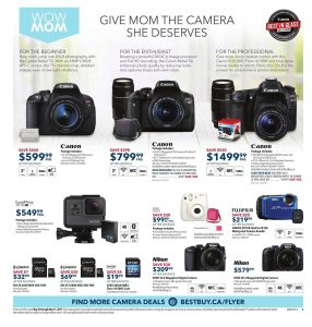 Best Buy Flyer May 6 2017 Mother's Day