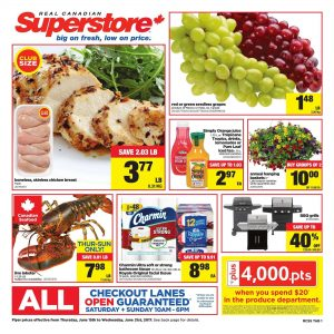 Real Canadian Superstore Flyer June 20 2017