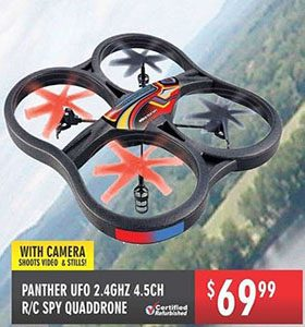 Canada Day Panther ufo 2.4 ghz quaddrone $69.99