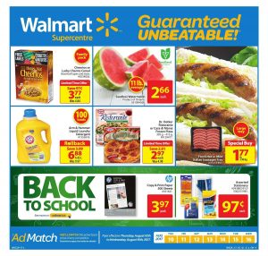 Walmart Flyer Fresh Meat Deals 14 Aug 2017