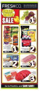 FreshCo Flyer Food Sale 25 Nov 2017