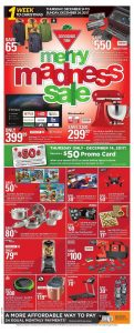 Canadian Tire Flyer Merry Madness Sale December 14 2017