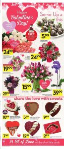 Safeway Flyer Valentines Day Gift 9 Feb 2018
