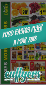 Food Basics Flyer Cheap Deals 11 Mar 2018