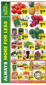 Food Basics Flyer Good Foods 5 Mar 2018