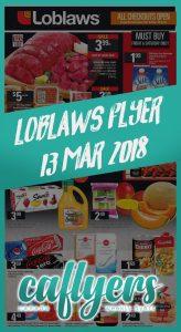 Loblaws Flyer Kitchen Sale 13 Mar 2018