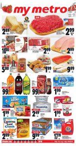 Metro Flyer Meat Deals 19 Jul 2018